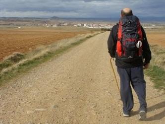 Tramo del Camino de Santiago