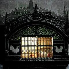 Gallo y gallina vivos en la Catedral