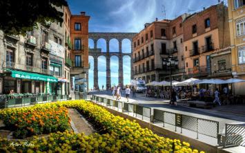 Segovia y su acueducto