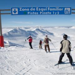 Sierra nevada, esquí familiar