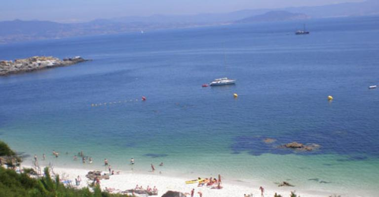 Fotografía de : Vigo, islas Cies