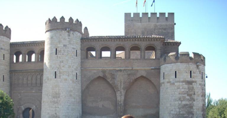 Fotografía de Aragón: Zaragoza - Palacio de la Aljafería