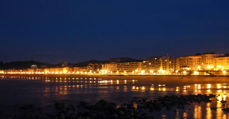 Fotografía de Zarauz: Zarautz Vista nocturna