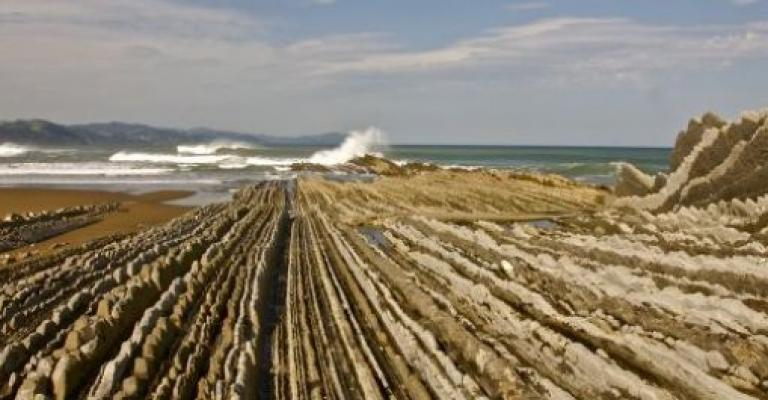 Picture : Zumaia - Flysch y playa