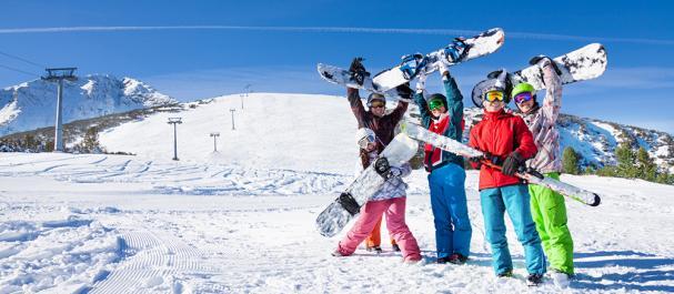 Fotografía de : Nieve y esqui Pirineos franceses