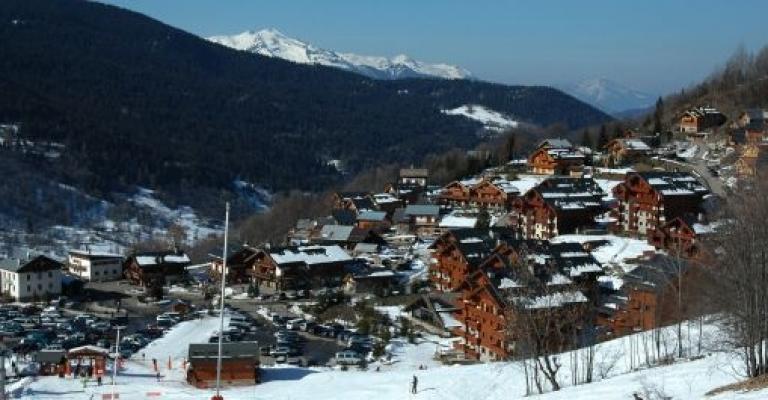 Picture Rhône-Alpes: Meribel, vista al pueblo