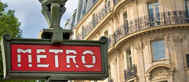 Fotografía de París: Paris Le Metro