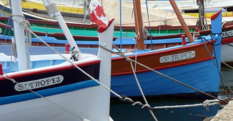 Foto : Barcos puerto Saint Tropez