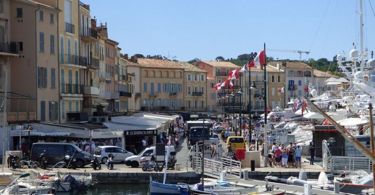 Foto : Saint Tropez puerto