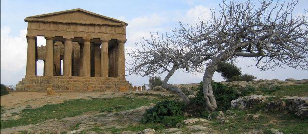 Fotografía de Agrigento: Agrigento - Templo de la Concordia