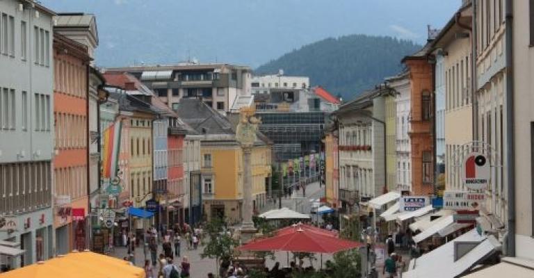 Foto von Kärnten: Plaza principal de Villach