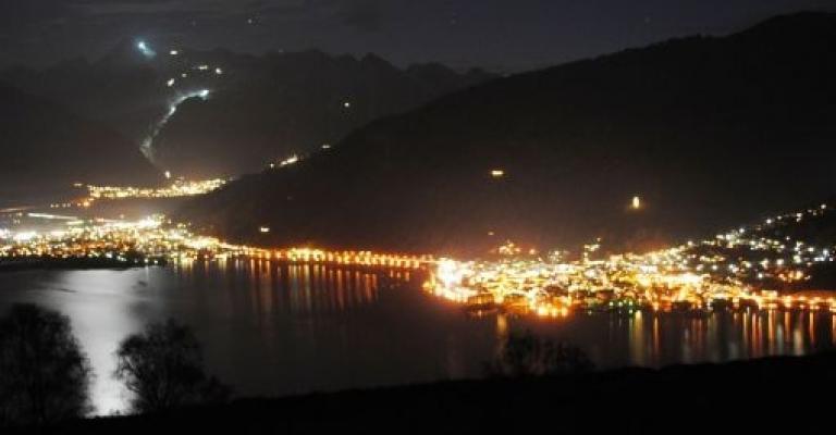 Foto von Salzburg: Zell am See de noche