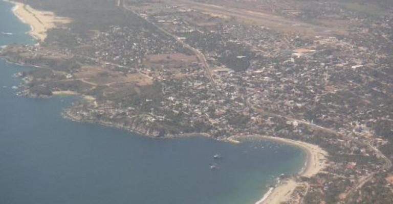 Foto Oaxaca: Puerto Escondido Vista aérea