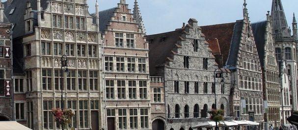 Fotografía de Bélgica: Casas de Gante