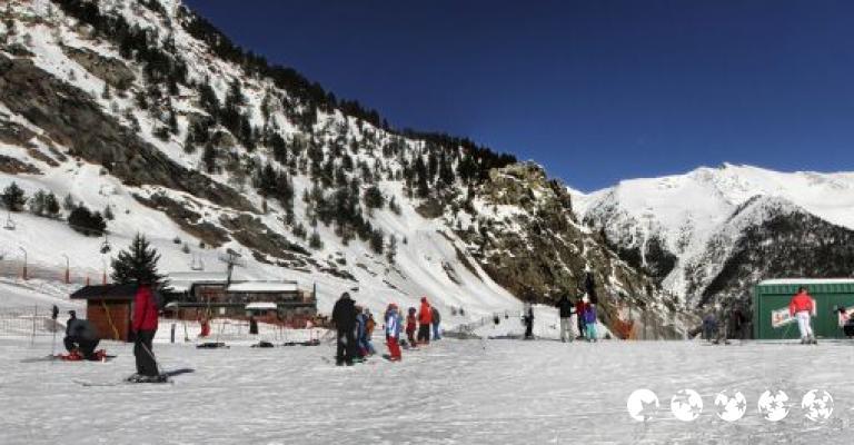 Fotografía de El Serrat: Vallnord la parte baja de las pistas