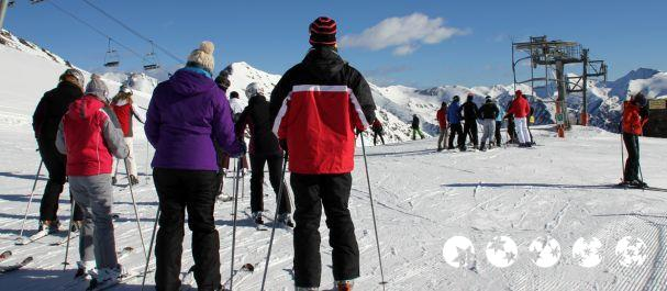 Fotografía de Pal: Esquiadores en Vallnord