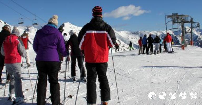 Foto Pal: Esquiadores en Vallnord