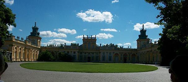 Fotografía de Varsovia: Palacio Wilanow de Varsovia