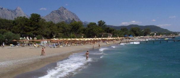 Fotografía de Turchia: La playa de Kemer