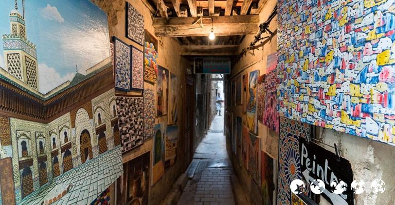 Fotografía de Fez-Bulmán: Fez - Medina callejón