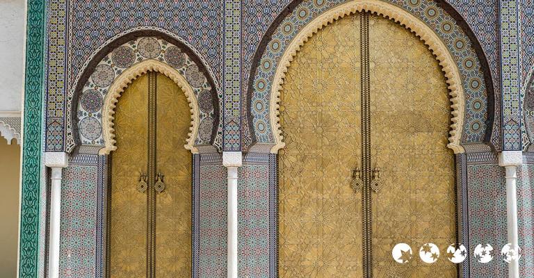 Fotografía de Fez-Bulmán: Fez - Puerta Palacio