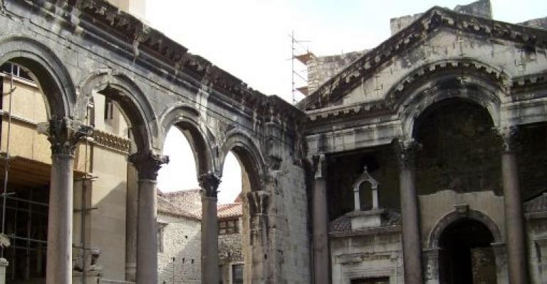 Picture Split: Ruinas en Split