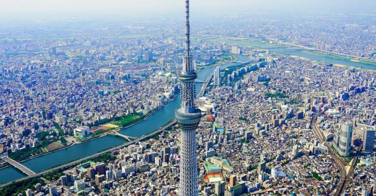 Foto Kanto: Tokyo Skyline