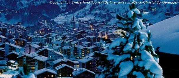Picture Zermatt: Zermatt by night