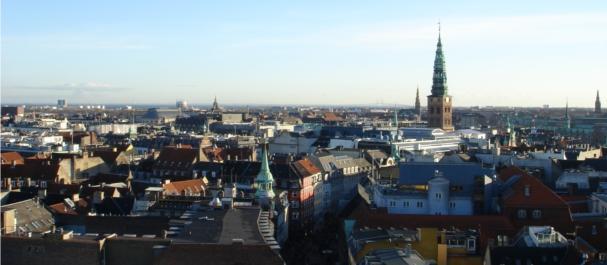 Fotografia de Copenhaga: Vista desde el Obervatorio de Copenhagen