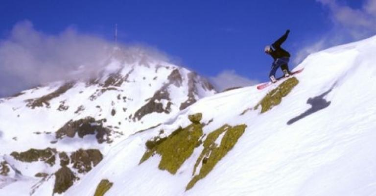Photo : Snowboard en Tourmalet