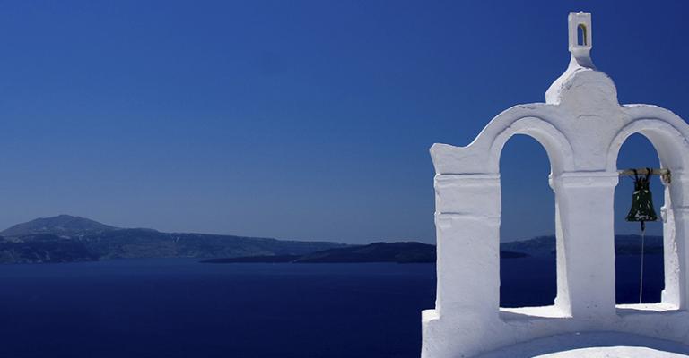 Photo : Santorini
