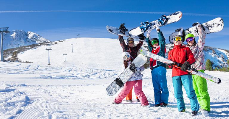 Photo Gourette: Deportes de nieve