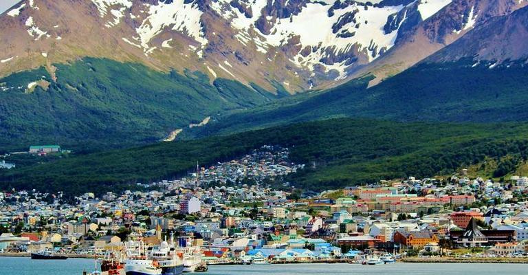 Foto von Amerika: Ushuaia Argentina