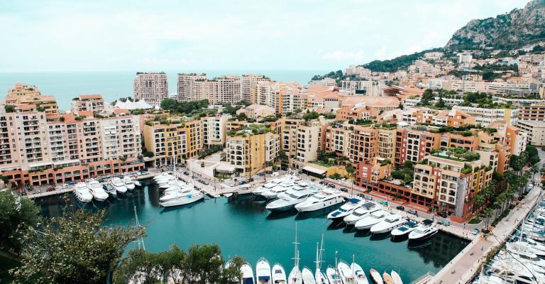 Foto von Monaco: Mónaco Fontivielle