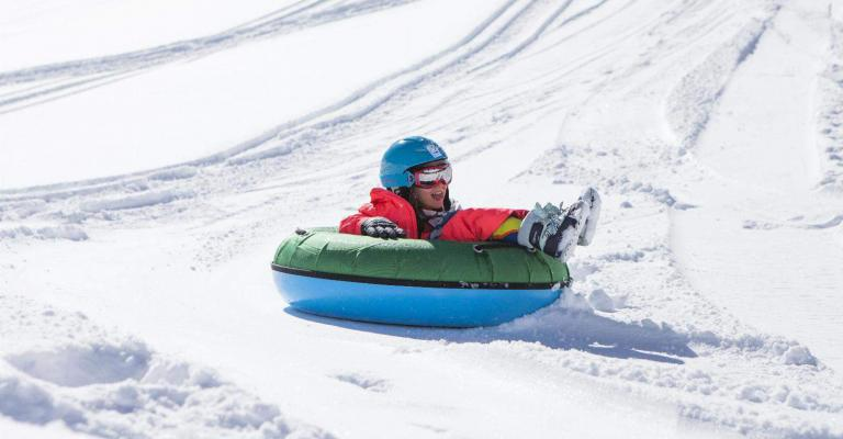 Photo : Grandvalira Tubbing