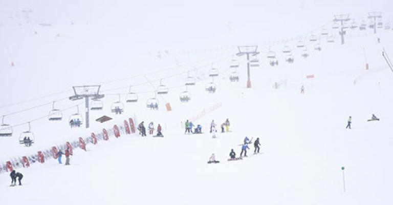 Fotografía de : Esquiando en la valle de Boi