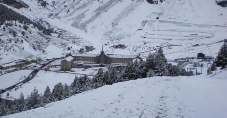 Fotografía de : La estación de esqui de Vall de Nuria