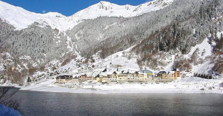 Photo : La estación de esquí de Artouste