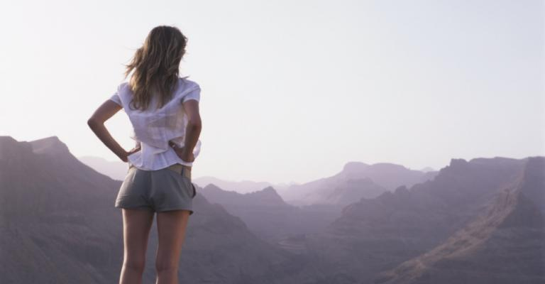 Fotografía de Fátaga: Vista sobre Fataga