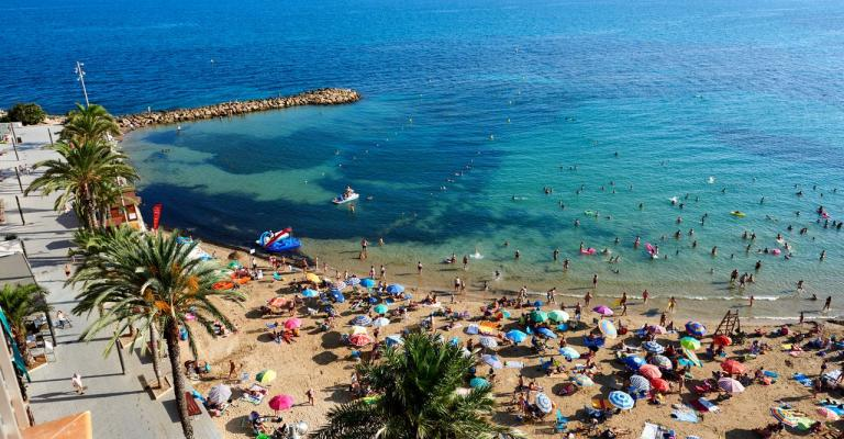Foto : Torrevieja Playa de Cura