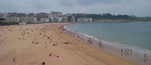Fotografía de : Playa El Sardinero, en Santander