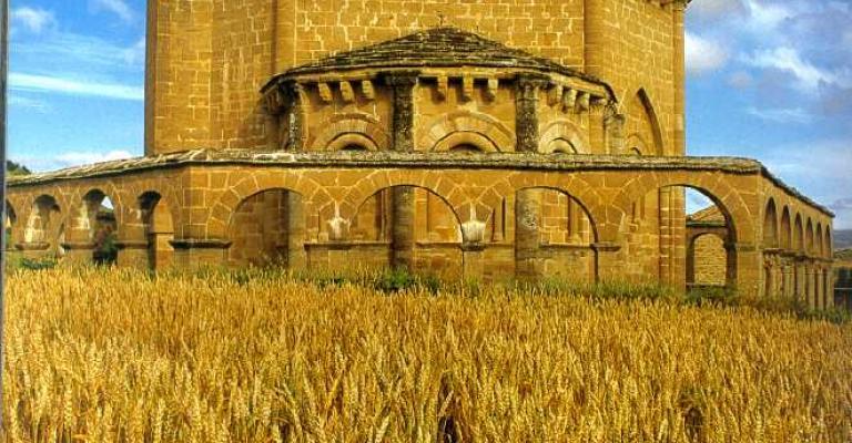 Fotografía de Navarra: Santa María de Eunate