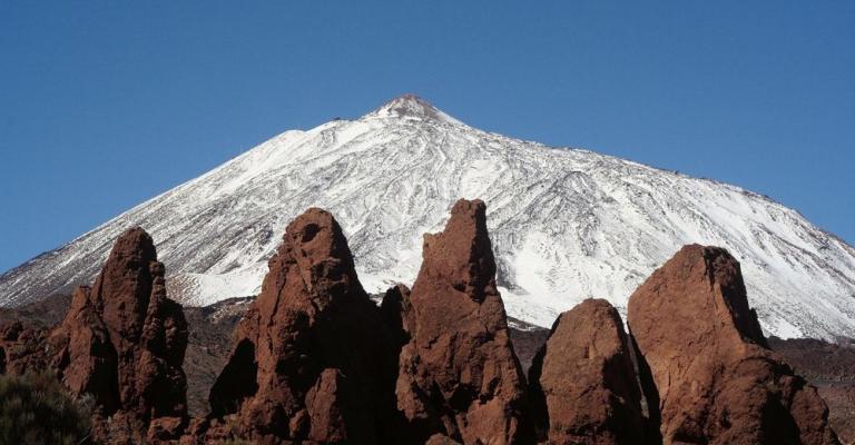Fotografía de : El Teide nevado