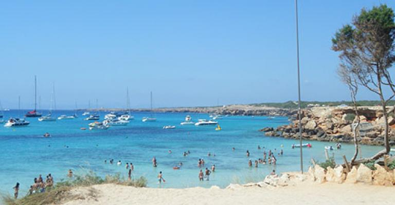Hot U00e9is Em Costa De Formentera  Costas Ilhas Baleares