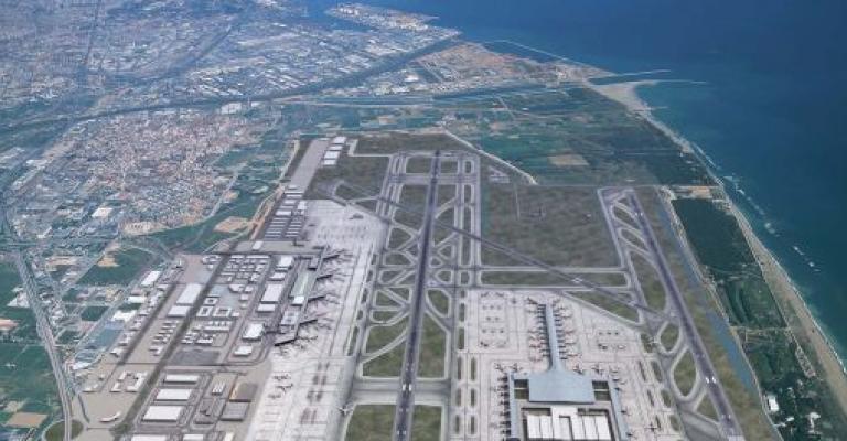 Fotografía de Barcelona: Vista aérea del aeropuerto